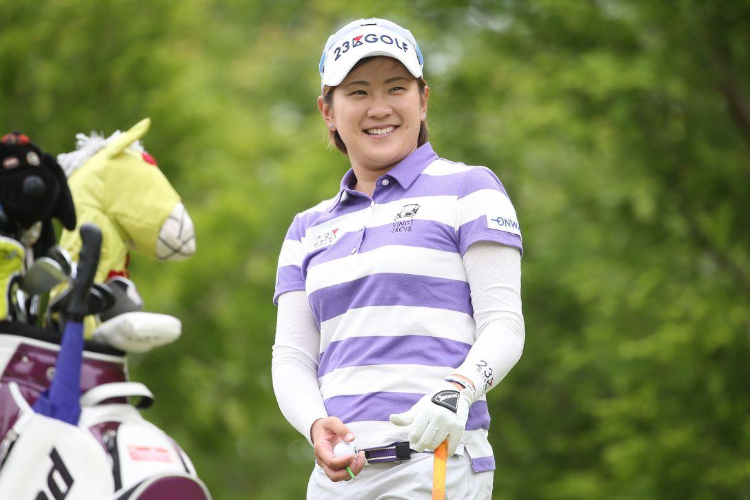 ヨネックスレディスゴルフトーナメント 1日目 成田 美寿々