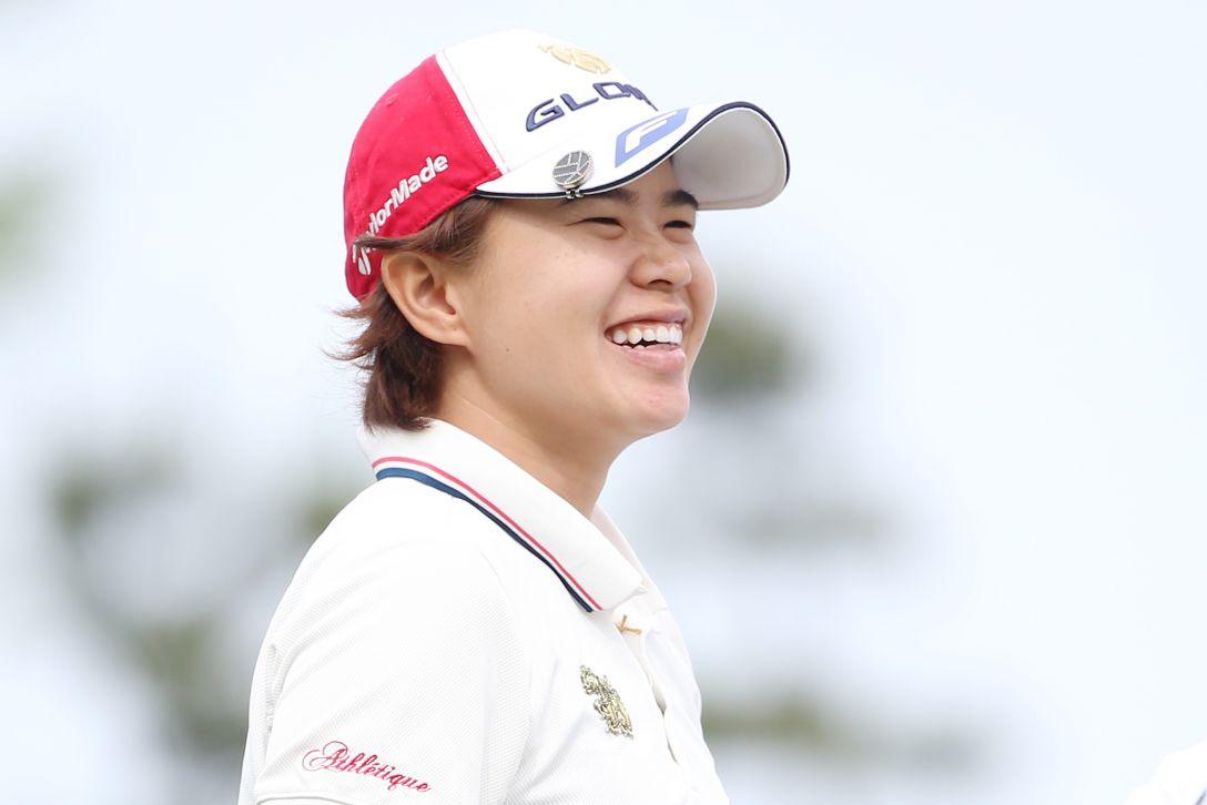 ヨネックスレディスゴルフトーナメント 1日目 O.サタヤ