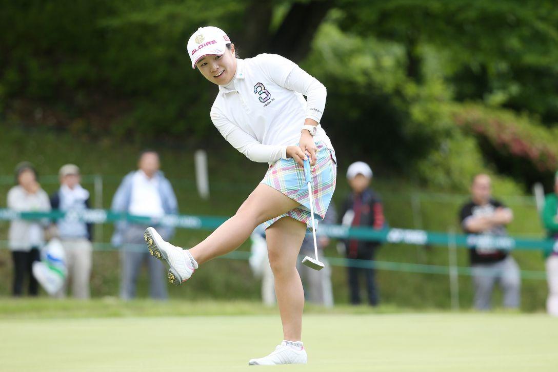 ヨネックスレディスゴルフトーナメント 2日目 永峰咲希