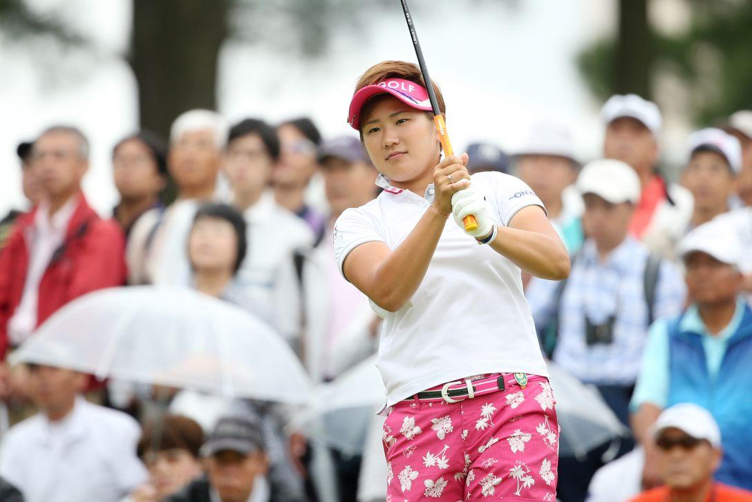 サントリーレディスオープンゴルフトーナメント 1日目 成田 美寿々