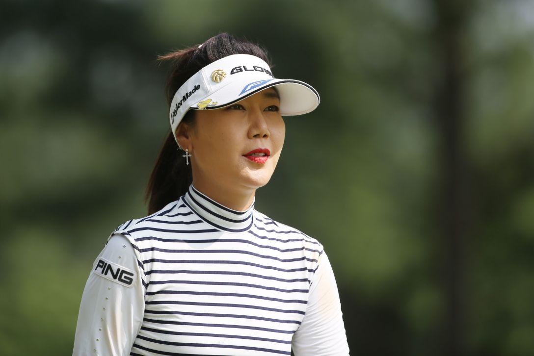 サントリーレディスオープンゴルフトーナメント 2日目 姜秀衍