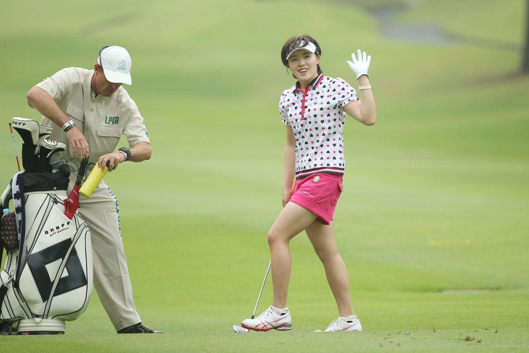 サントリーレディスオープンゴルフトーナメント 2日目 ナダエ