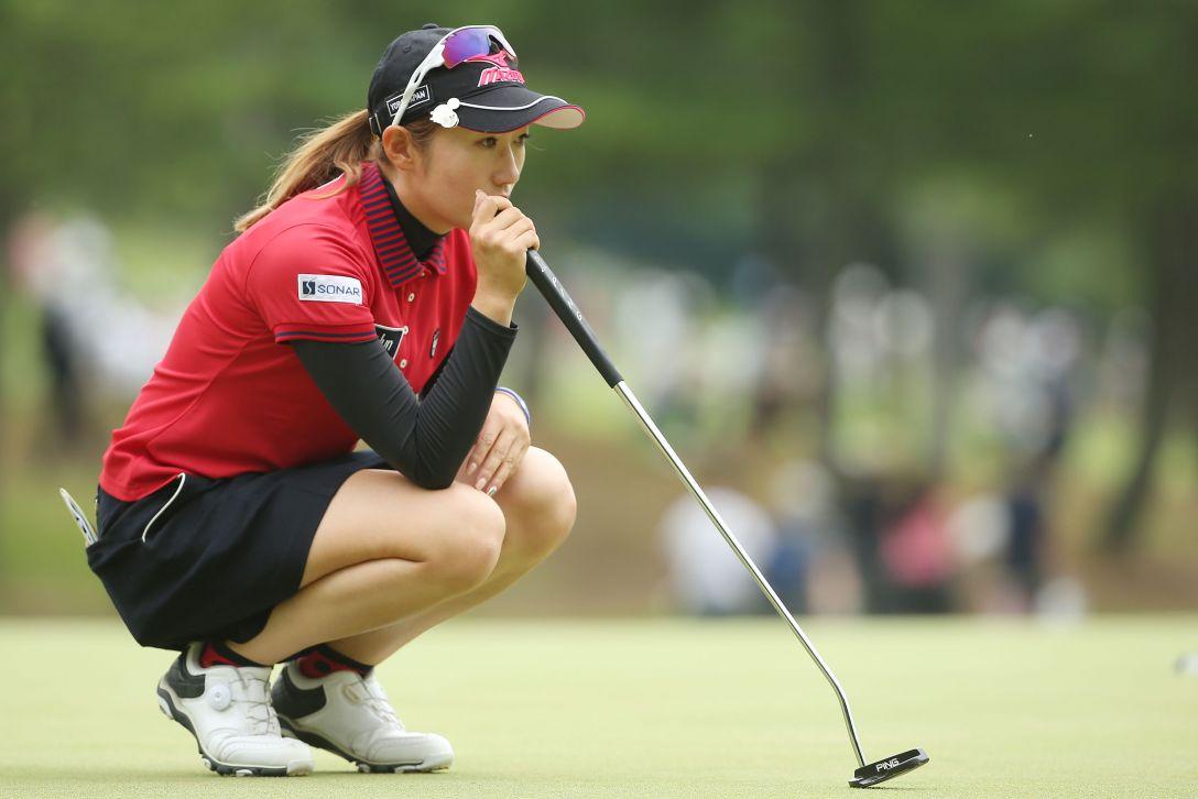 サントリーレディスオープンゴルフトーナメント 最終日 飯島茜