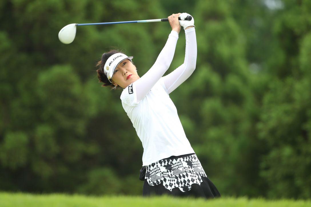 サントリーレディスオープンゴルフトーナメント 最終日 姜 秀衍