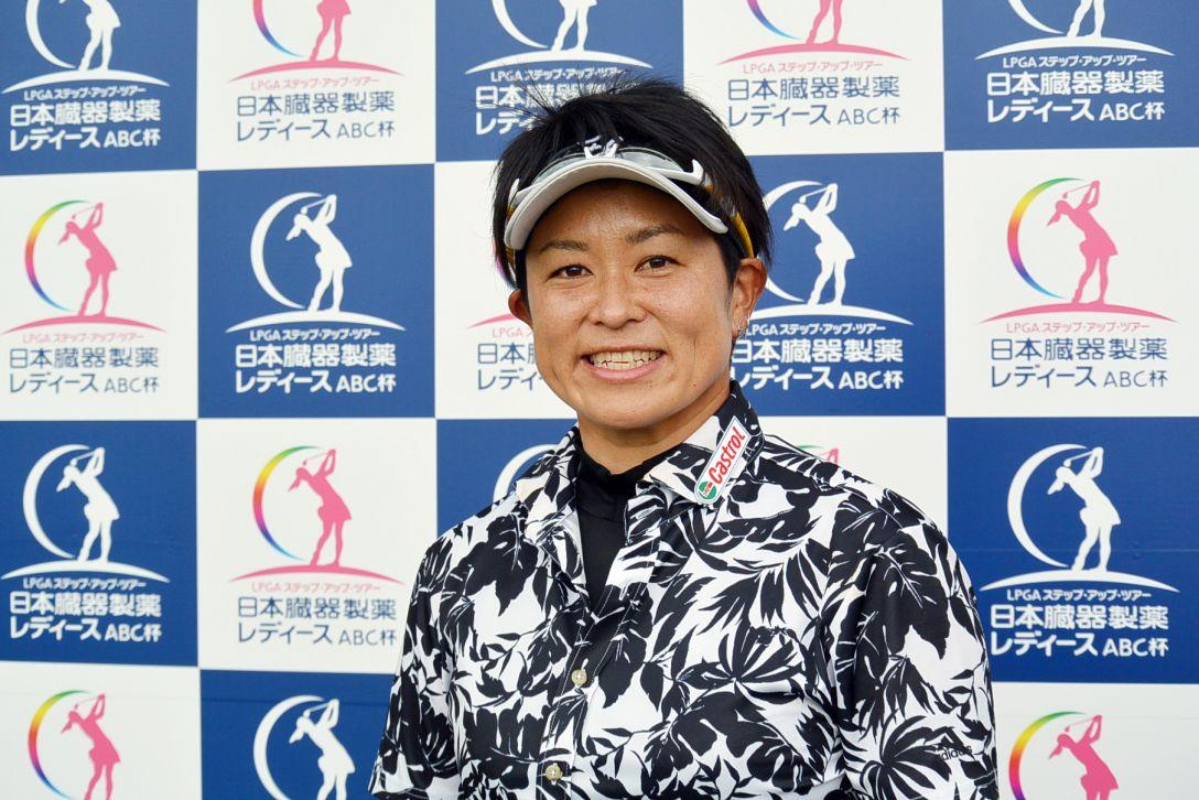日本臓器製薬レディースABC杯 1日目 大竹エイカ