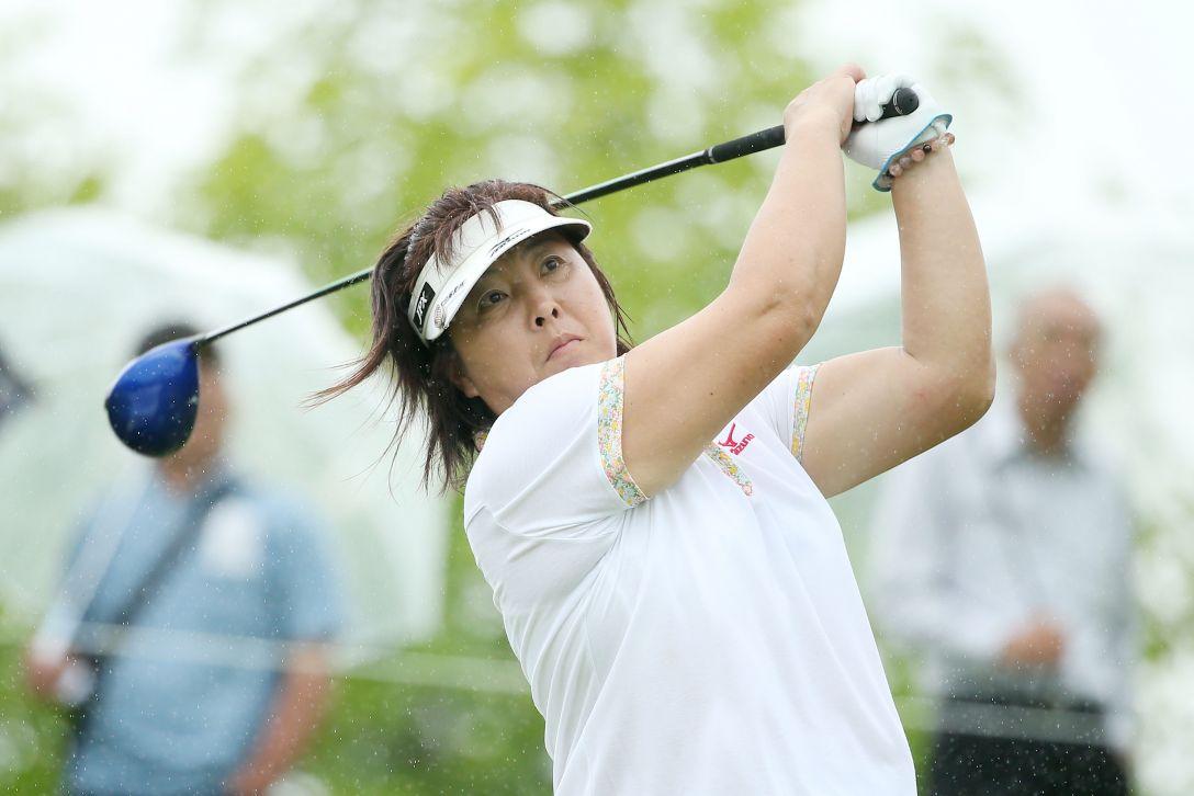 第6回LPGAレジェンズチャンピオンシップアイザックカップ 1日目  木村 敏美