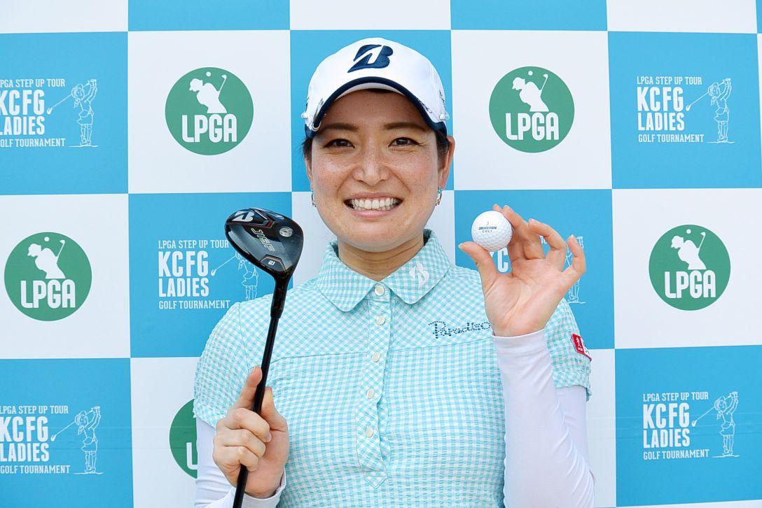 KCFG レディースゴルフトーナメント 1日目 横山倫子