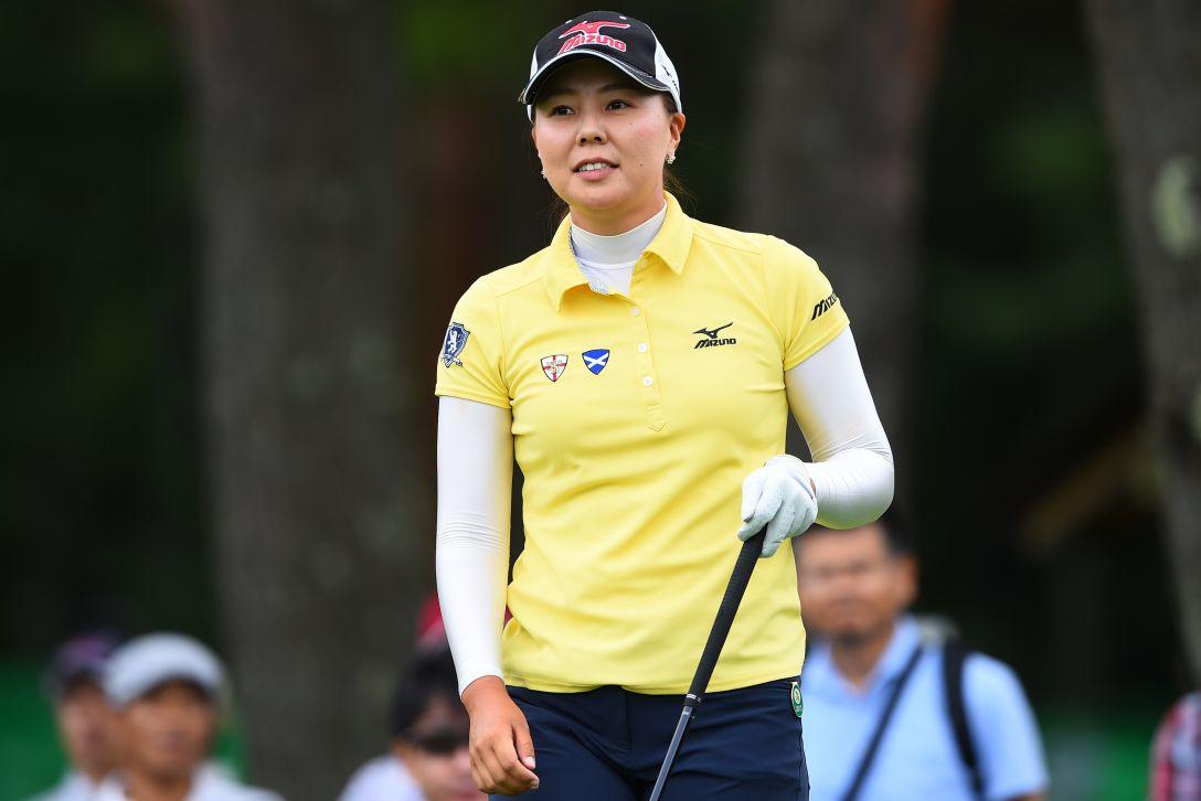 NEC軽井沢72ゴルフ 1日目 上原美希<写真:Masterpress/Getty Images>