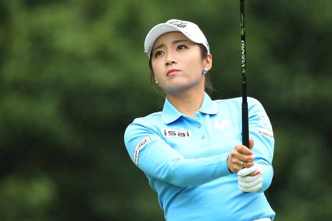 ニトリレディスゴルフトーナメント 1日目 イボミ <写真:Atsushi Tomura/Getty Images>