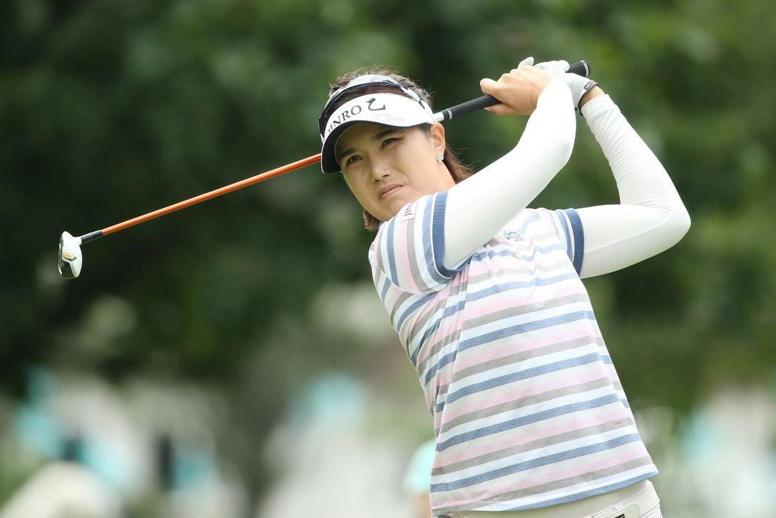 ニトリレディスゴルフトーナメント 1日目 全 美貞 <写真:Atsushi Tomura/Getty Images>