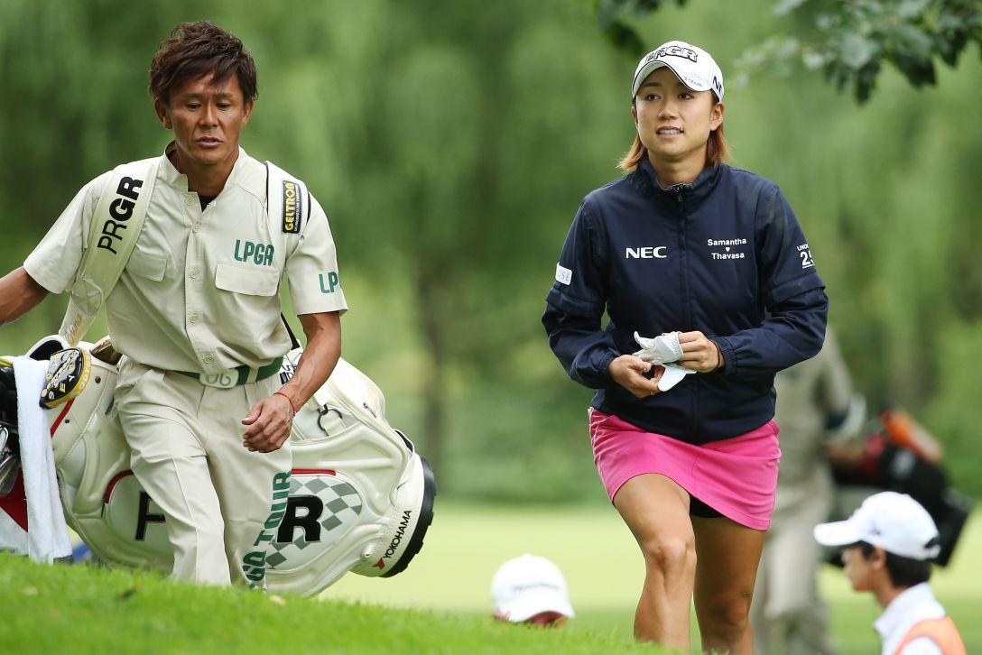 ニトリレディスゴルフトーナメント 1日目 原 江里菜 <写真:Atsushi Tomura/Getty Images>