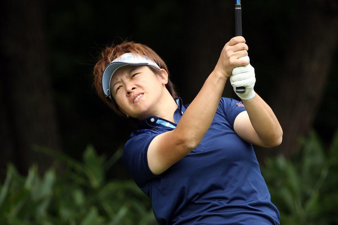ニトリレディスゴルフトーナメント 1日目 ウェイ ユンジェ <写真:Atsushi Tomura/Getty Images>