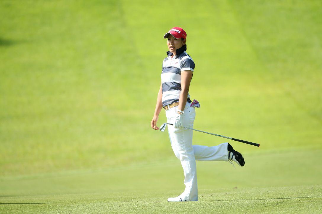 ゴルフ5レディス 1日目 若林舞衣子 <写真:Atsushi Tomura/Getty Images>