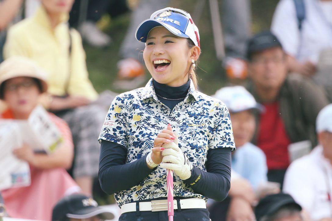 ゴルフ5レディス 1日目 江澤亜弥 <写真:Atsushi Tomura/Getty Images>