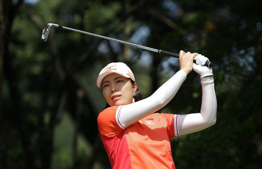 日本女子プロゴルフ選手権大会コニカミノルタ杯 1日目 服部 真夕