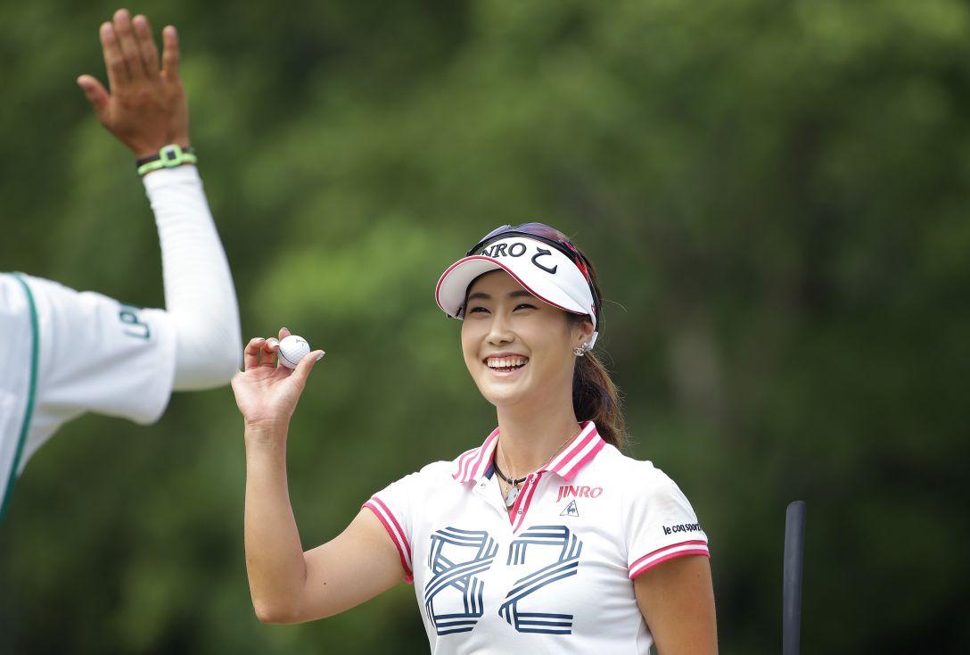 日本女子プロゴルフ選手権大会コニカミノルタ杯 3日目 キム ハヌル