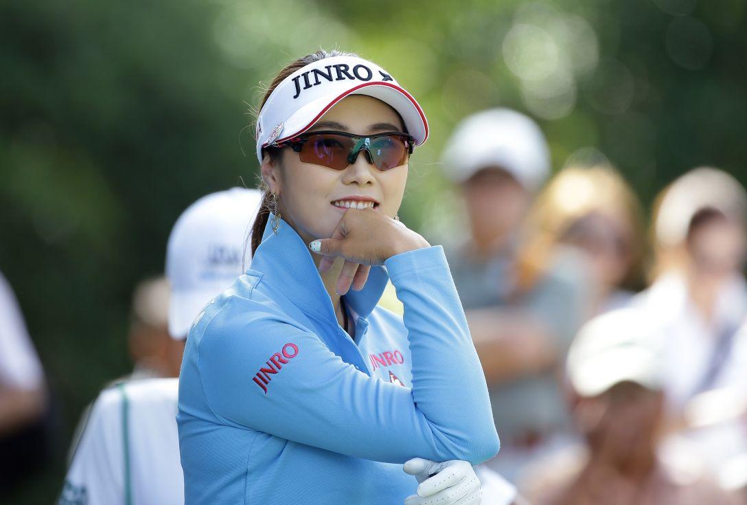 日本女子プロゴルフ選手権大会 コニカミノルタ杯 最終日 キム ハヌル