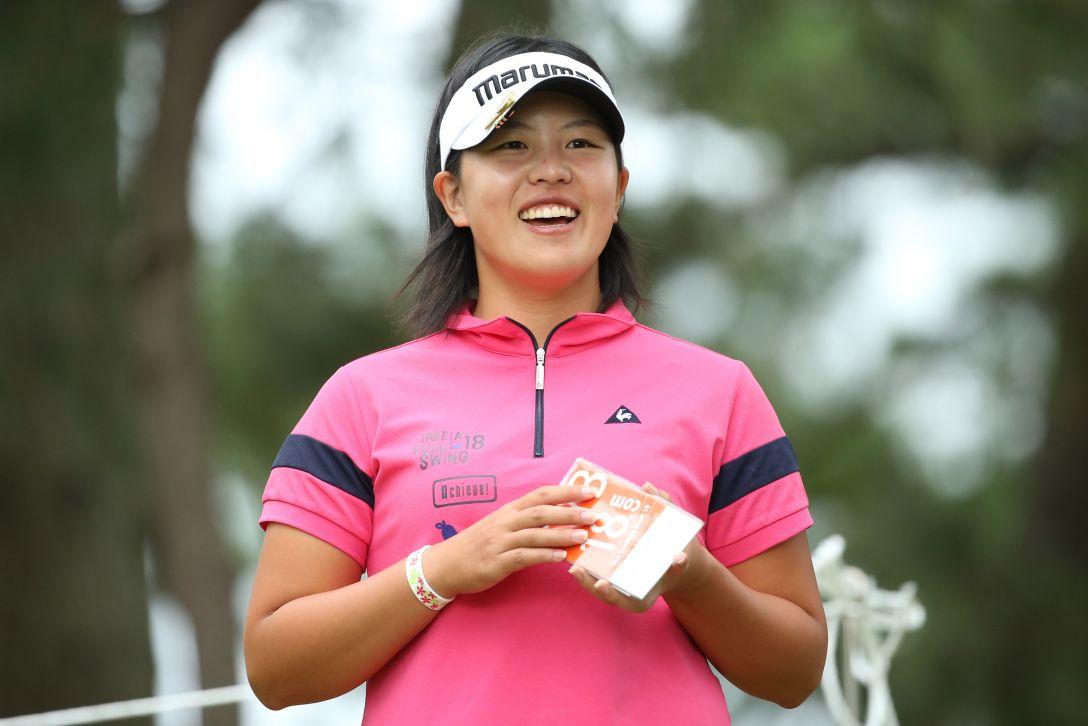 日本女子オープンゴルフ選手権競技 1日目 ささきしょうこ<写真:Atsushi Tomura/Getty Images>