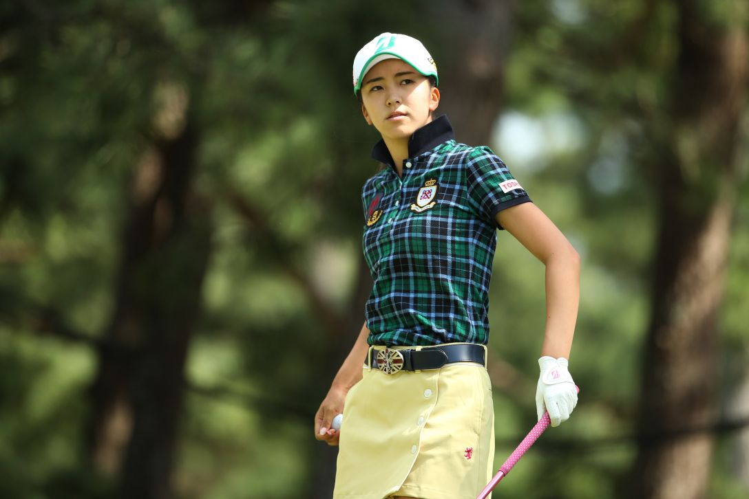 日本女子オープンゴルフ選手権 3日目 堀琴音<写真:Atsushi Tomura/Getty Images>