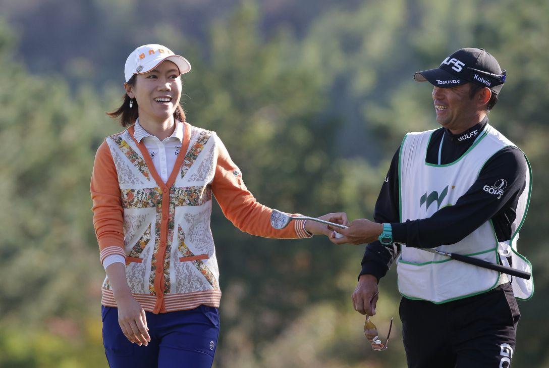 マスターズGCレディース 最終日 李知姫<写真:Chung Sung-Jun/Getty Images>