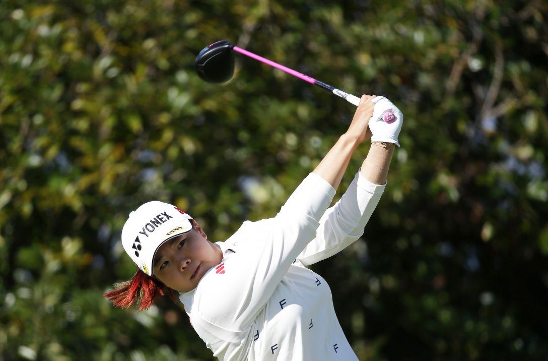 LPGAツアーチャンピオンシップリコーカップ 1日目 アンソンジュ<写真:Chung Sung-Jun/Getty Images>