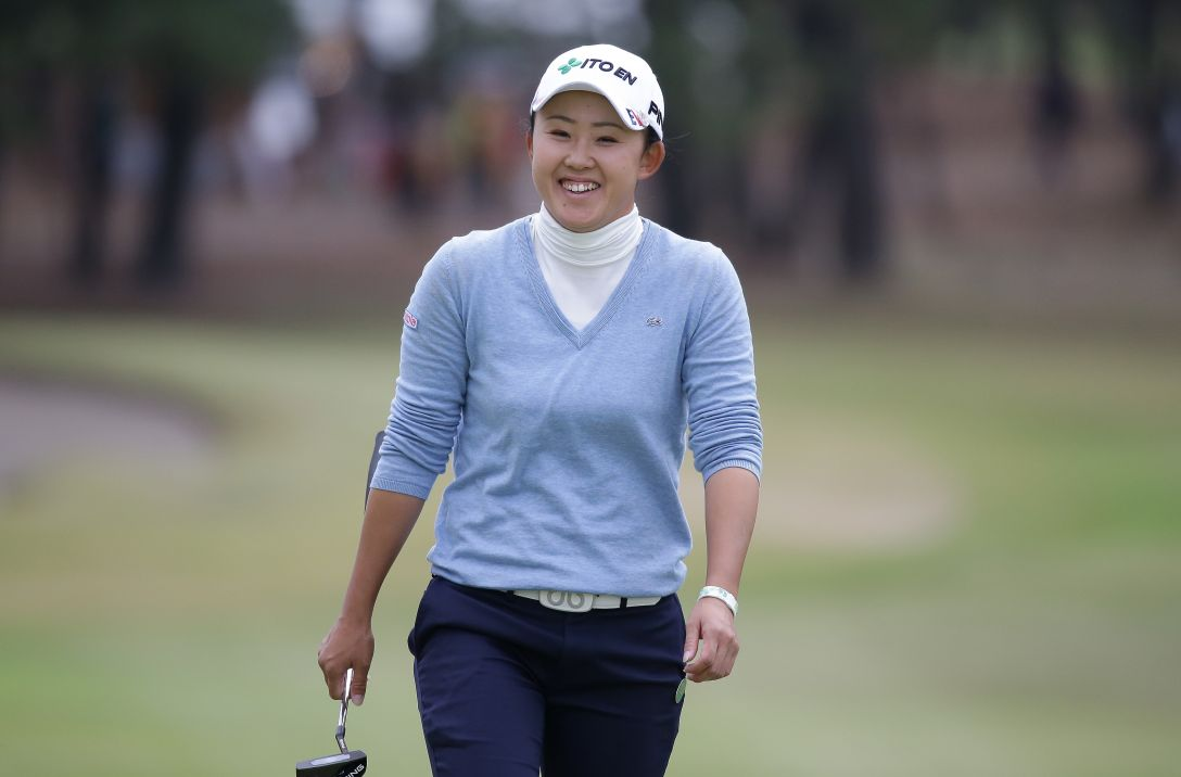 LPGAツアーチャンピオンシップリコーカップ 1日目 前田陽子<写真:Chung Sung-Jun/Getty Images>