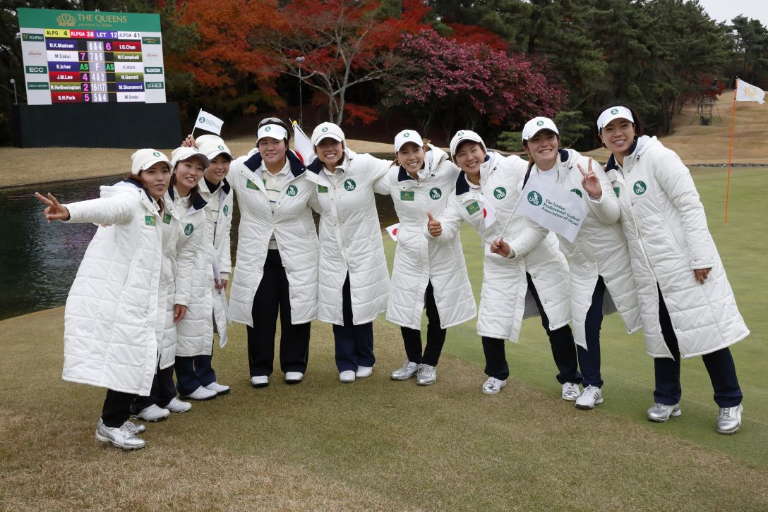 THE QUEENS presented by KOWA 最終日 <写真:Tomohiro Ohsumi/Getty Images>
