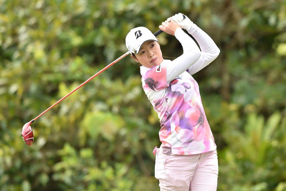 ダイキンオーキッドレディスゴルフトーナメント 2日目 西山 ゆかり<Photo:Atsushi Tomura/Getty Images>