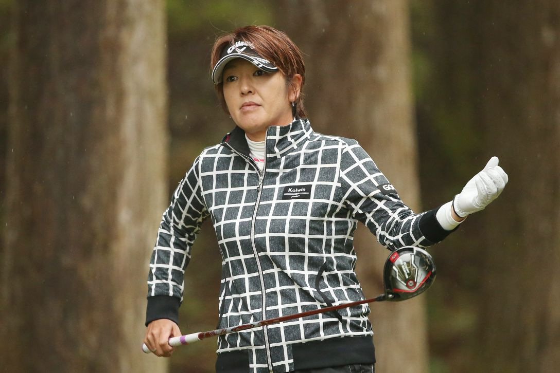 Tポイントレディス ゴルフトーナメント 1日目 福嶋 浩子 <Photo:Atsushi Tomura/Getty images>