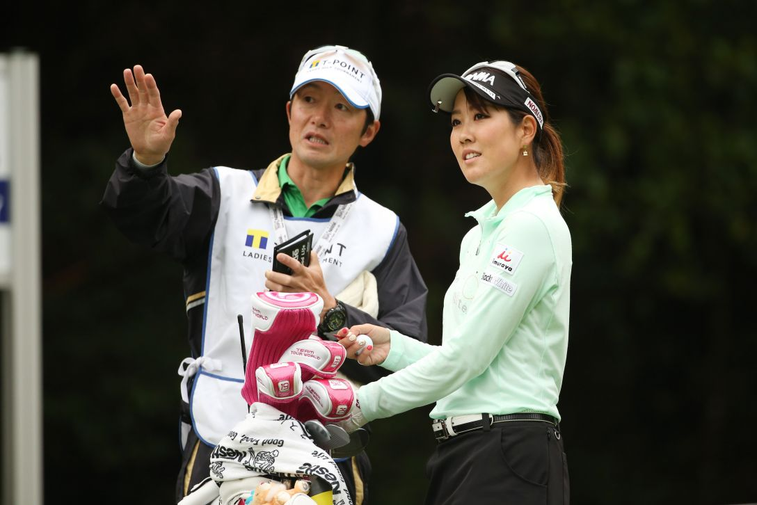 Tポイントレディス 2日目 福田 真未<Photo:Atsushi Tomura/Getty images>