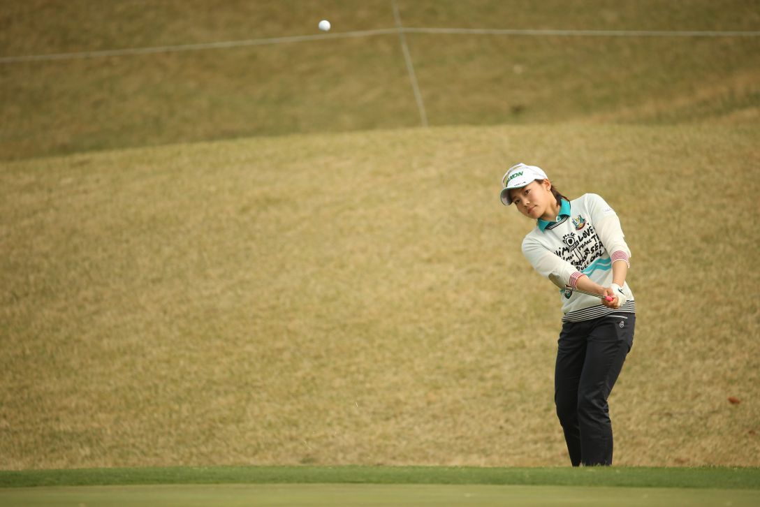 Tポイントレディス 2日目 藤崎莉歩<Photo:Atsushi Tomura/Getty Images>