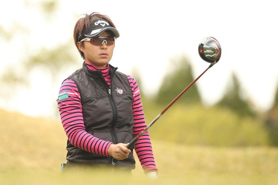アクサレディスゴルフトーナメント 1日目 永田 あおい <Photo:Atsushi Tomura/Getty Images>