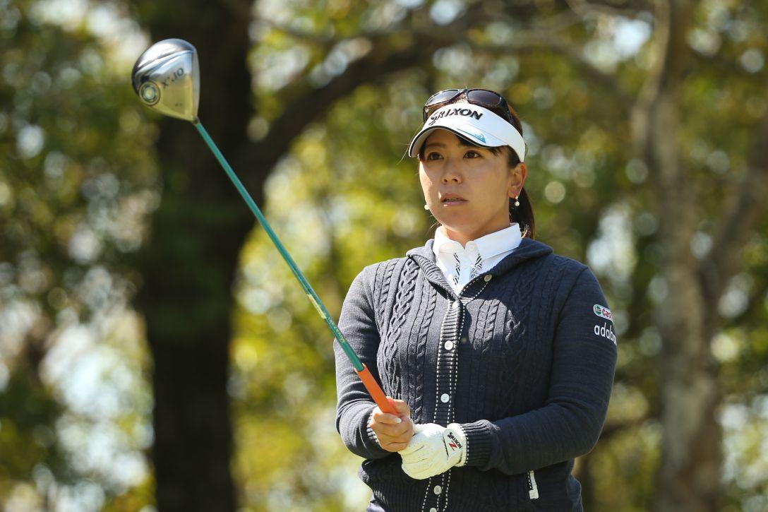 アクサレディスゴルフトーナメント 2日目 吉田 弓美子 <Photo:Atsushi Tomura/Getty Images>