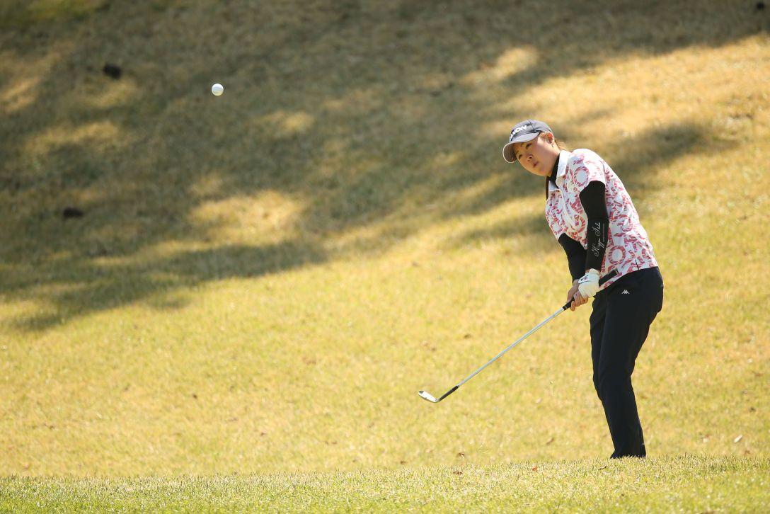 アクサレディスゴルフトーナメント 2日目 保坂 真由 <Photo:Atsushi Tomura/Getty Images>