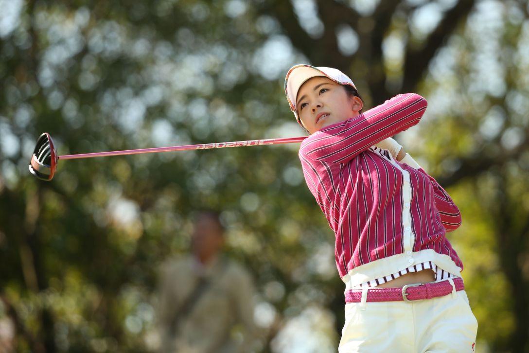 アクサレディスゴルフトーナメント 2日目 堀 琴音 <Photo:Atsushi Tomura/Getty Images>