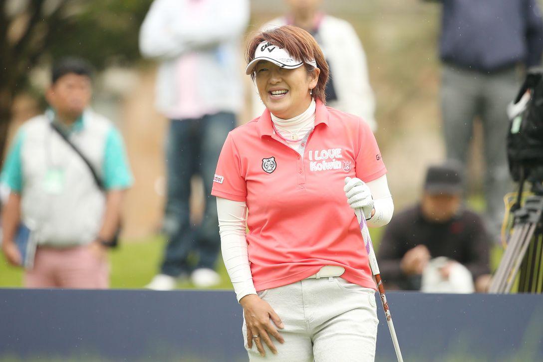サイバーエージェント レディスゴルフトーナメント 1日目 福嶋浩子 <Photo:Atsushi Tomura/Getty Images>