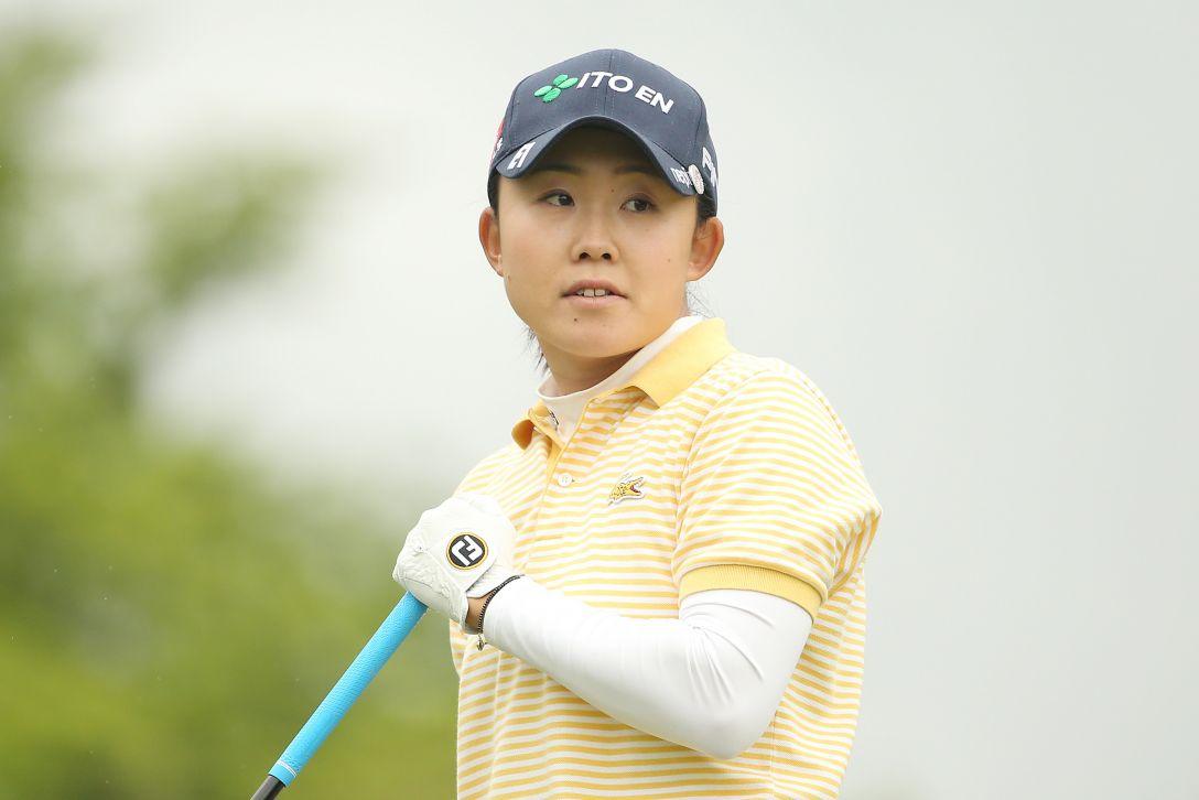 サイバーエージェント レディスゴルフトーナメント 1日目 前田陽子 <Photo:Atsushi Tomura/Getty Images>