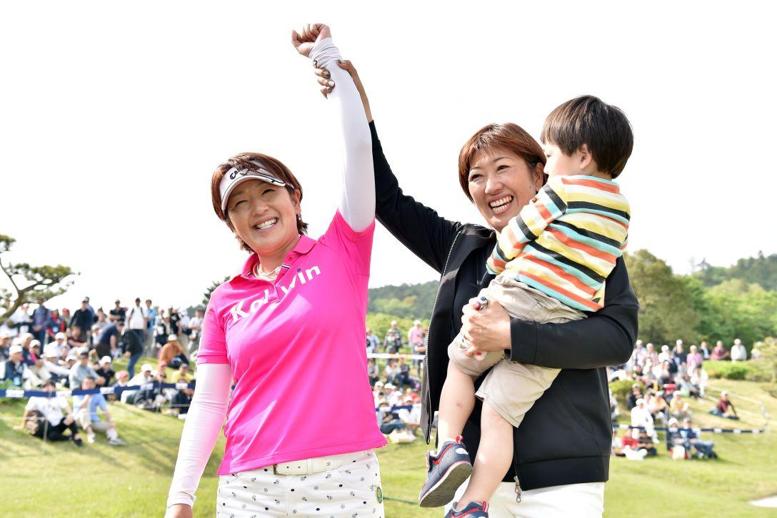 サイバーエージェント レディスゴルフトーナメント 最終日 福嶋浩子 <Photo:Atsushi Tomura/Getty Images>