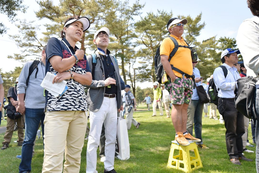 ワールドレディスサロンパスカップ 解説ツアー<Photo:Atsushi Tomura/Getty Images>