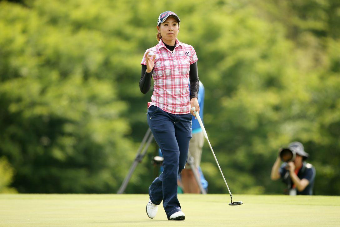 ヨネックスレディスゴルフトーナメント 1日目 若林舞衣子 <Photo:Atsushi Tomura/Getty Images>