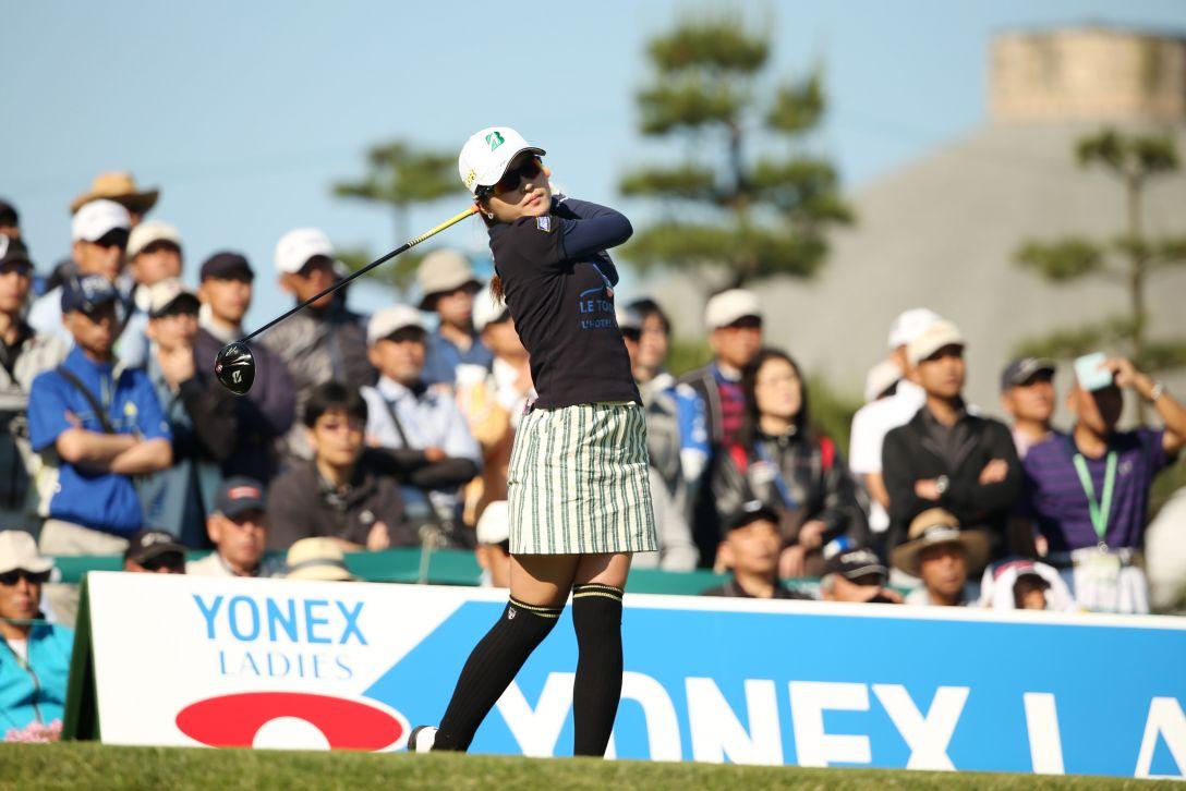 ヨネックスレディスゴルフトーナメント 1日目 三ヶ島かな <Photo:Atsushi Tomura/Getty Images>