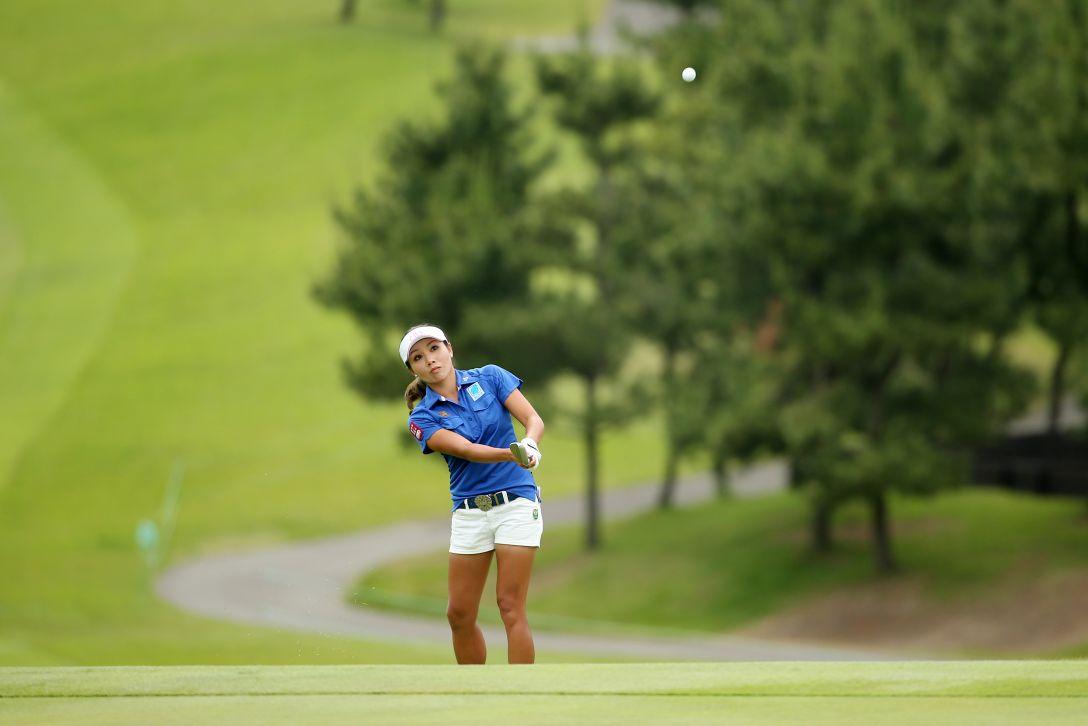ヨネックスレディスゴルフトーナメント 2日目 P.チュティチャイ <Photo:Atsushi Tomura/Getty Images>