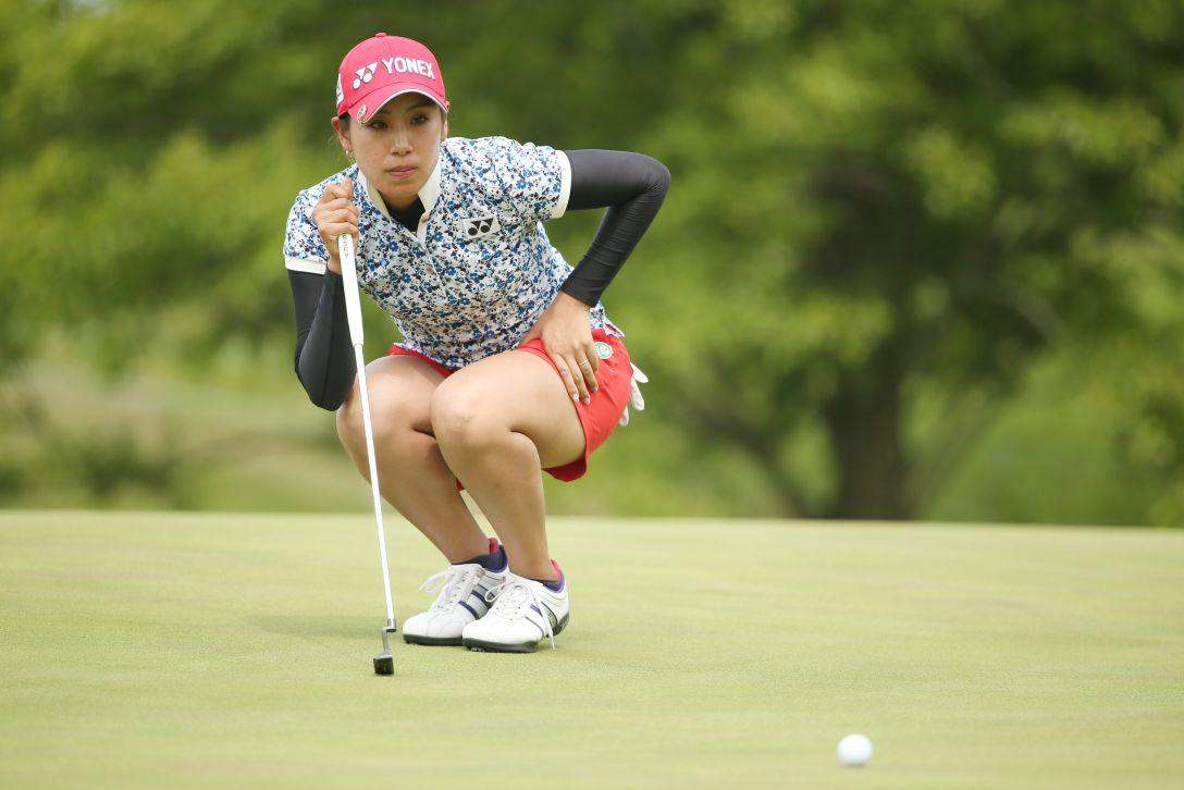 ヨネックスレディスゴルフトーナメント 2日目 若林舞衣子 <Photo:Atsushi Tomura/Getty Images>
