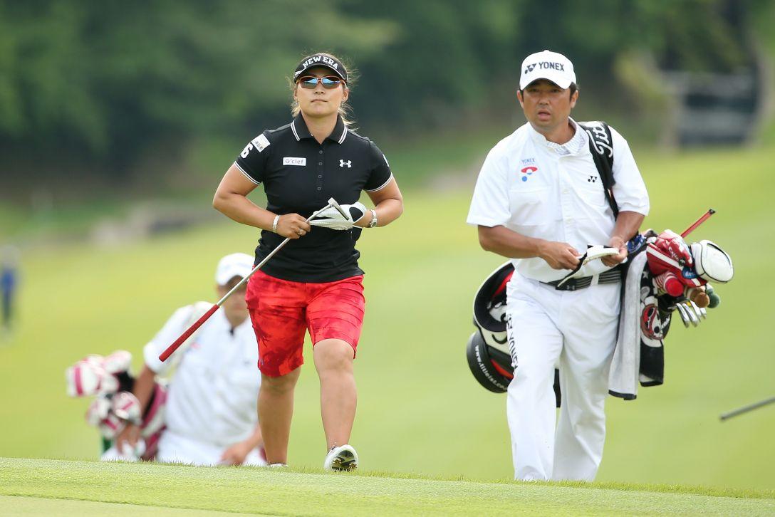 ヨネックスレディスゴルフトーナメント 2日目 馬場ゆかり <Photo:Atsushi Tomura/Getty Images>