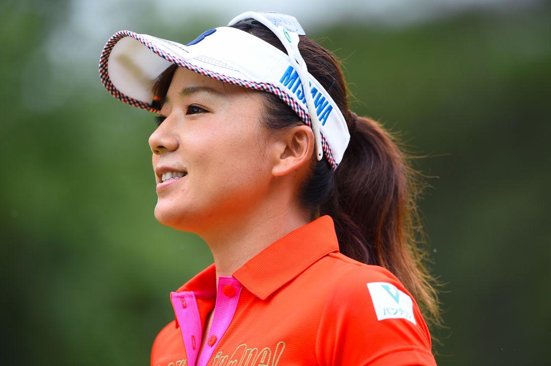 サントリーレディスオープンゴルフトーナメント 1日目 有村智恵 <Photo:Masterpress/Getty Images>