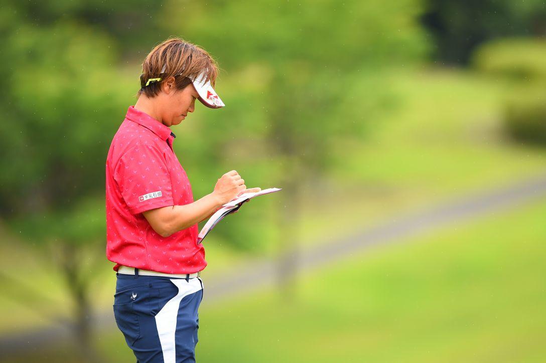 サントリーレディスオープンゴルフトーナメント 1日目 福田裕子 <Photo:Masterpress/Getty Images>