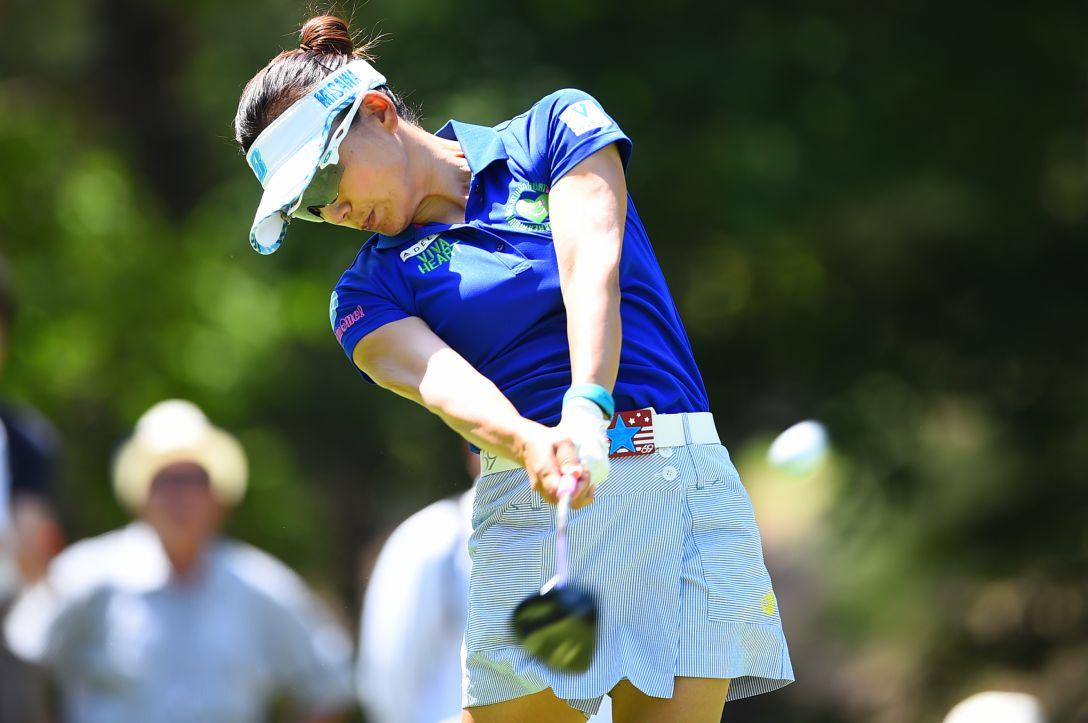 サントリーレディスオープンゴルフトーナメント 2日目 有村智恵 <Photo:Masterpress/Getty Images>