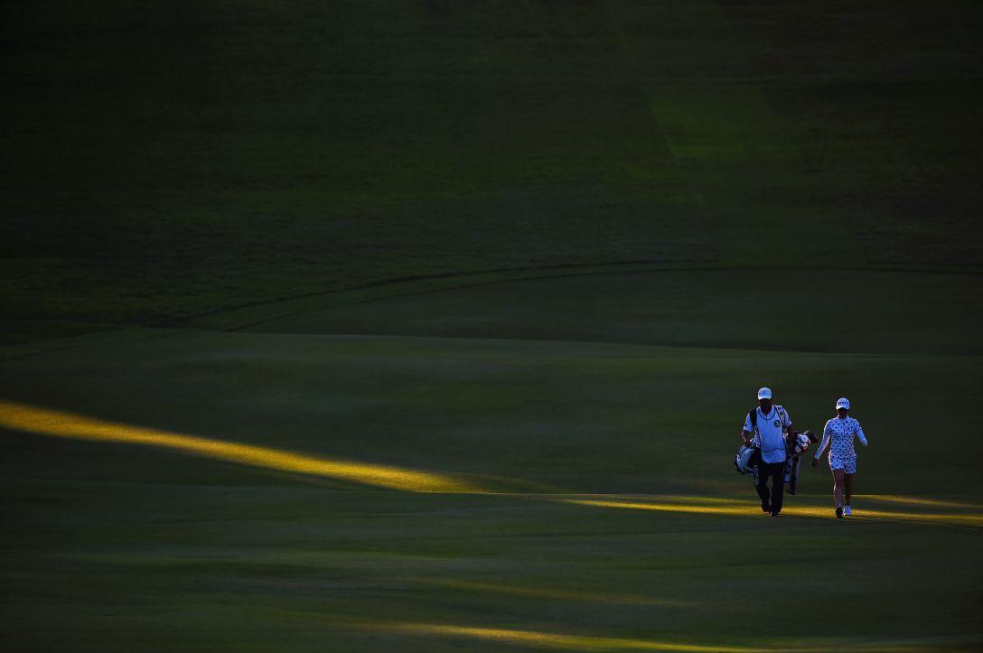 サントリーレディスオープンゴルフトーナメント 2日目 飯島茜 <Photo:Masterpress/Getty Images>