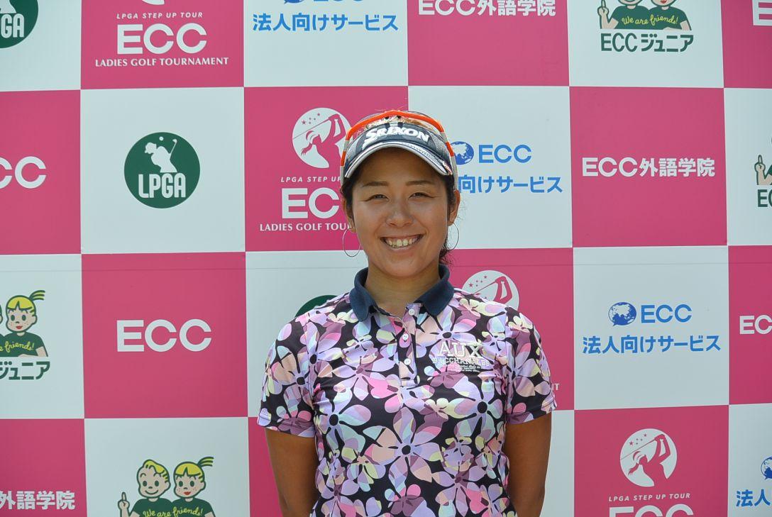 ECCレディス ゴルフトーナメント 1日目 小竹莉乃
