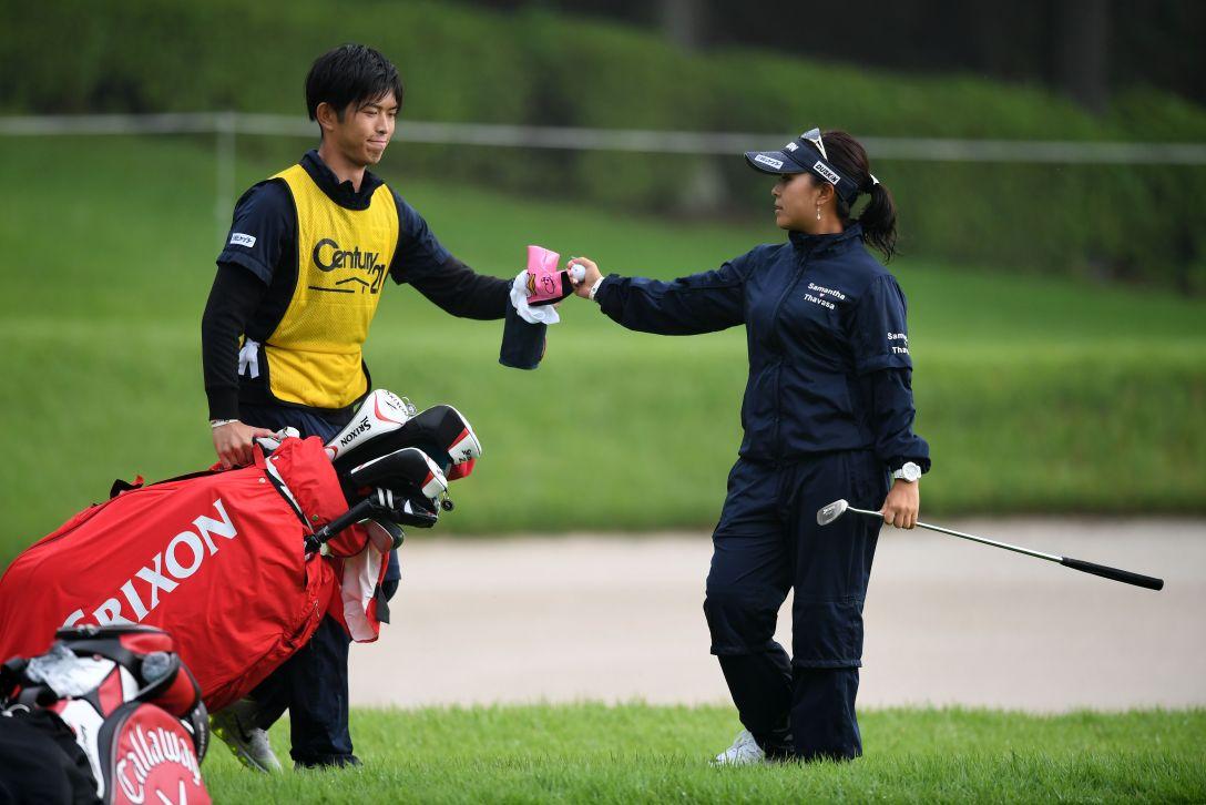 センチュリー21レディスゴルフトーナメント 1日目 青木瀬令奈 <Photo:Arrow Press/Getty Images>